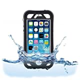 Naztech 12846 Vault Waterproof Cover for iPhone 5 and 5s Black