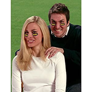 Party Animal Pittsburgh Steelers Team Eye Black Strips- 3 Pairs from Party Animal