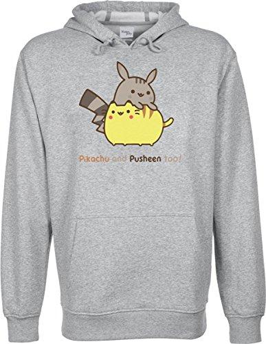 Pikachu-y-pusheen-tambin-Funny-Cute-con-capucha-sudadera-Unisex