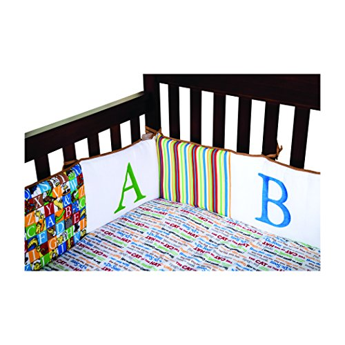 Trend Lab Dr. Seuss Alphabet Seuss Crib Bumpers