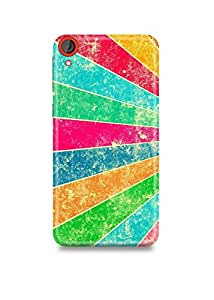 Colorful Pattern HTC 820 Case