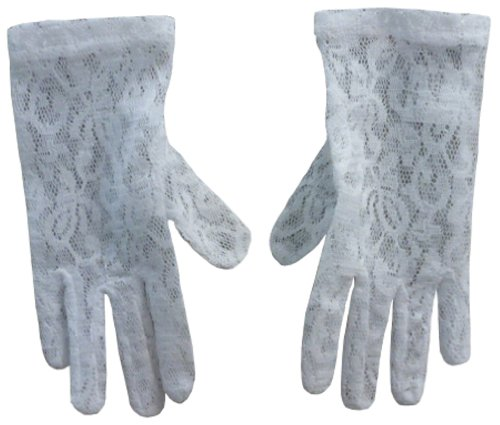 N'Ice Caps Girls Dress up Stretch Lace Glove