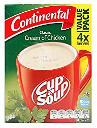 Continental Cup-A-Soup Cream of Chicken, 75g