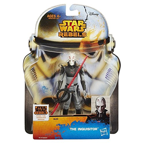 Star Wars Rebels Saga Legends The Inquisitor Action Figure