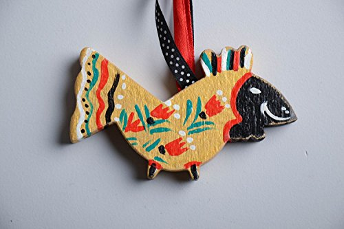 suspension-decorative-en-bois-peint-oiseau
