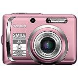 """Rollei Compactline 55 Digitalkamera (5 Megapixel, 3-fach opt. Zoom, 6,1 cm (2,4 Zoll) Display) rosavon """"Rollei"""""""