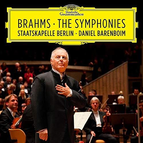 CD : BRAHMS / BARENBOIM / STAATSKAPELLE BERLIN - Symphonies (4 Discos)