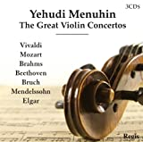 Yehudi Menuhin - Yehudi Menuhin: The Great Violin Concertos