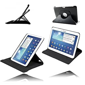 Etui Luxe Rotatif pour Samsung Galaxy Tab 3 10.1 P5210 P5220 + STYLET et FILM OFFERTS !