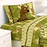 Scooby-Doo Safari - 4pc Bed Sheet Set - Full Size Bedding
