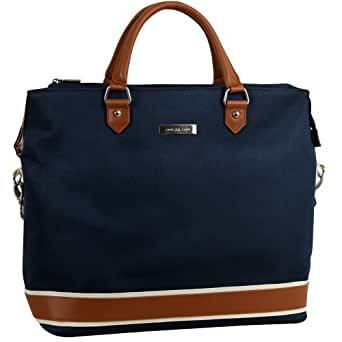 Anne Klein Luggage Vintage Edition 15 Inch Boarding Bag, Navy, One Size