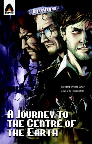 A Journey to the Center of the Earth (Campfire Graphic Novels)