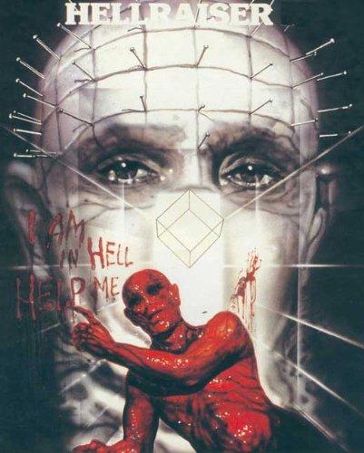 """Hellraiser II-Poster: Hellbound Movie (27,94 43,18 cm x (11""""), 28 x 17 cm x 44 cm)"""
