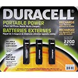 Duracell Portable USB Power Bank 2600 mAh for use with iPhone, iPad, iPod, BlackBerry, Samsung, LG, Motorola, Kindle, Nook (Blue)