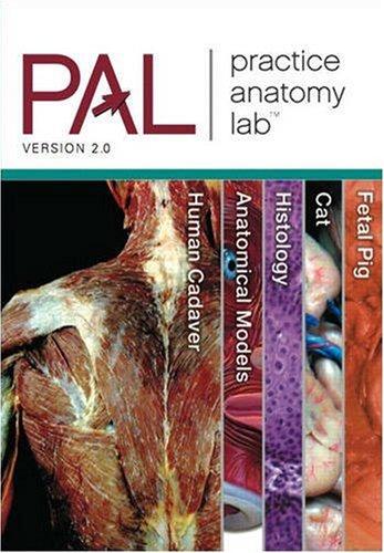 Practice Anatomy Lab 2.0 CD-ROM