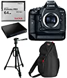 Canon EOS-1D X Mark II Digital SLR Camera Body - SanDisk 64GB Extreme 2.0 Memory Card - Extreme PRO CFast 2.0 Reader Writer - Ritz Gear 70