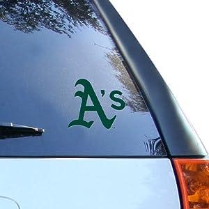 MLB Oakland Athletics 8'' x 8'' Team Logo Die-Cut Decal