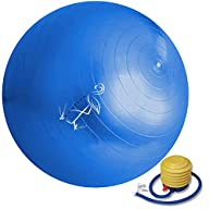 Exercise Ball 65cm – Anti-Burst Yoga…