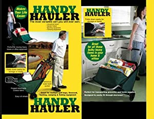 Handy Hauler Foldable Cart Holds Over 300 LBS