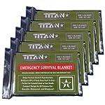 TITAN Premium Emergency Survival Blan...