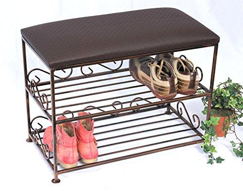 preisvergleich schuhregal mit sitzbank bank 60cm. Black Bedroom Furniture Sets. Home Design Ideas
