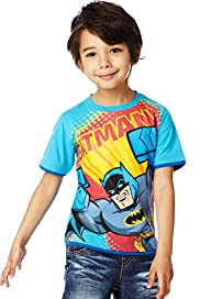 Pure Cotton Crew Neck Batman™ T-Shirt