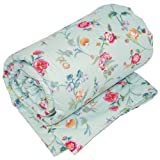 V&A Country Meadow King Quilted Bedspreadby Bedeck
