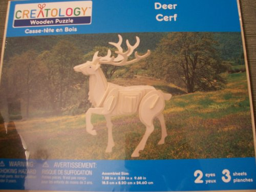 Cheap Michaels Creatology Wooden Puzzle  Deer (B0050W1OBM)