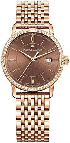 Maurice Lacroix Eliros EL1094-PVPD6-710-1 Reloj de Pulsera para mujeres Con cristales