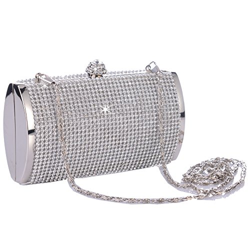 ANDI ROSE Luxury Rhinestones Clutch Bridal Wedding Evening Party Prom Bags Handbags