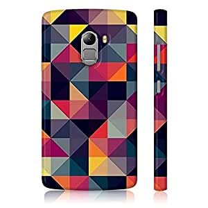 Amey Colorful Triangles Lenovo K4 Note Case