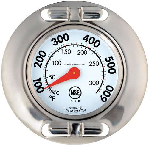 Chaney Instrument Professional Grill Surface Thermometer
