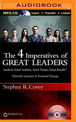 The 4 Imperatives of Great Leaders PDF