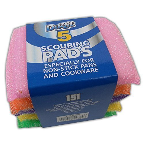 high-quality-5-pack-scouring-pads-washing-up-non-stick