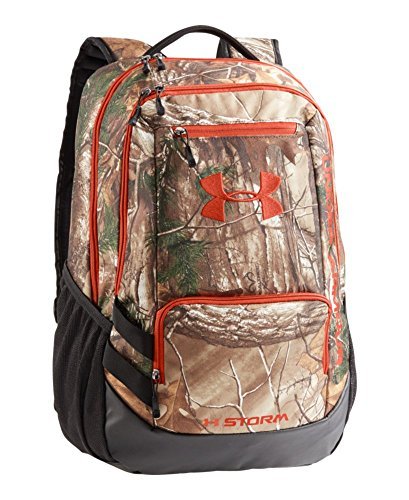 Under Armour Unisex Under Armour Camo Hustle Backpack, Realtree AP-Xtra,