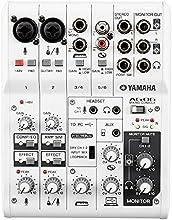 Yamaha AG-06 - Mezclador compacto, color blanco