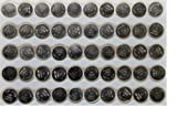 TianQiu AG13 / LR44 Button Cell Batteries for Watches Laser pointers toys and small electronics. 50 Qty Bulk Pack in Tray