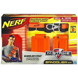 Amazon - Nerf Bandolier Dart Kit - $7.99