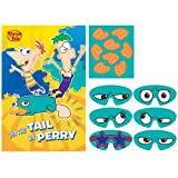 Amscan Disney Phineas And Ferb Party Game