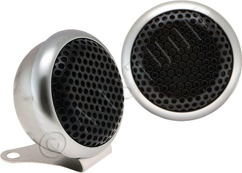 """Power Acoustik Nb_9 4_ Speaker (300W, High-Performance Tweeters, Niobium Rare Earth Ferroelectric Transducer Magnet, 1"""" Polypropylene Diaphragm, Includes 12Db In-Line Passive Crossover, Surface Or Flush Mounting Option, 5K - 25Khz Freq Resp, 99Db Efficien"""