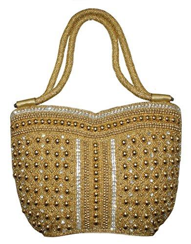 Party Wear Ladies Purses Stylist Clutch Handbag Hand Embroidery