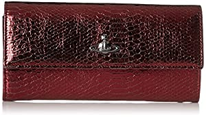 Vivienne Westwood Back Cut Boke Wallet, Bordeaux, One Size
