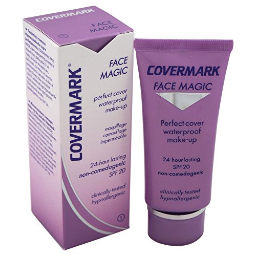Covermark Face Magic Tubetto Fondotinta, Colore 1 - 30 ml