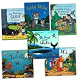 Julia Donaldson Julia Donaldson and Axel Scheffler Pack, 6 books, RRP £37.94 (Charlie Cook's Favourite Book; Tabby McTat; The Smartest Giant in Town; The Snail and the Whale; Tiddler; Zog).