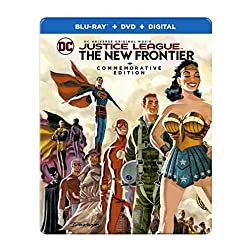 Justice League: New Frontier Commemorative Edition [Blu-ray]