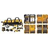 DEWALT DCK940D2 20V MAX Lithium Ion 9-Tool Combo Kit with DEWALT DWA2FTS100 Screwdriving and Drilling Set, 100 Piece