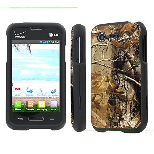 NakedShield LG L34C Optimus Fuel / Zone 2 VS415 (Hunter Camouflage) Total Hard Armor LifeStyle Phone Case компрессор optimus prime 65 1 2 20mm