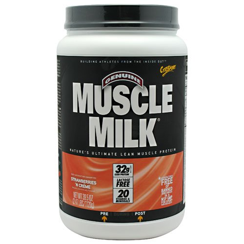 Cytosport Muscle Milk, Strawberries N' Creme -- 2.5Lb