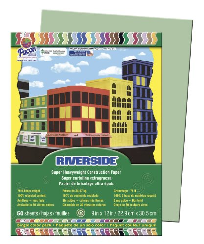 PAC103595 - Pacon Riverside Construction Paper - 1