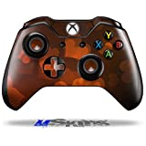 Bokeh Hearts Fire - Decal Style Skin Fits Microsoft XBOX One Wireless Controller (CONTROLLER SOLD SEPARATELY)
